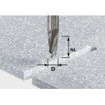FESTOOL 492654-Festool HW D12/27 ss S12 Spiraalgroeffrees HW schacht 12 mm-klium