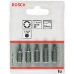 BOSCH 2607001768-5-delig bitset Extra Hard (Torx®) T 10- T 15- T 20- T 25- T 30- 25 mm-klium