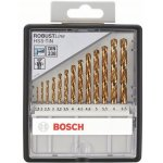BOSCH 2607010539-13-delige Robust Line metaalborenset HSS-TiN, 135° 1,5- 2- 2,5- 3- 3,2- 3,5- 4- 4,5- 4,8- 5- 5,5- 6- 6,5 mm, 135°-klium