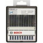BOSCH 2607010541-10-delige Robust Line decoupeerzaagbladenset Metal Expert T-schacht --klium
