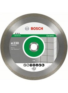 BOSCH 2608602636-BOSCH DIAMANTDOORSLIJPSCHIJF BEST FOR CERAMIC 200 X 25,40 X 2,2 X 10 MM-klium