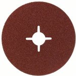 BOSCH 2608605474-Fiberschuurschijf voor haakse slijpmachine, korund 125 mm, 22 mm, 24-klium