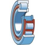 SKF NUP 218 ECM/C4-CILINDERLAGER NUP 218 ECM/C4-klium
