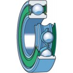 SKF 6301-2RSH/C3-GROEFKOGELLAGER  6301-2RSH/C3-klium