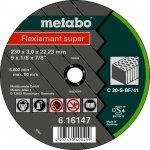 METABO 616733000-METABO FLEXIAMANT SUPER 125X2,5X22,23 STEEN, DOORSLIJPSCHIJF, RECHTE UITVOERING-klium
