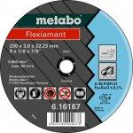 METABO 616299000-METABO FLEXIAMANT 180X3,0X22,23 INOX, DOORSLIJPSCHIJF, GEBOGEN UITVOERING-klium