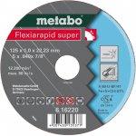 METABO 616218000-METABO FLEXIARAPID SUPER 115X1,6X22,23 INOX, DOORSLIJPSCHIJF, RECHTE UITVOERING-klium