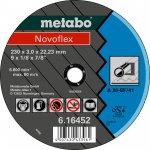 METABO 616446000-METABO NOVOFLEX 100X2,5X16,0 STAAL, DOORSLIJPSCHIJF, RECHTE UITVOERING-klium