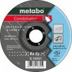 METABO 616500000-METABO COMBINATOR 115 X 1,9 X 22,23 MM, INOX, DOORSLIJP- EN AFBRAAMSCHIJF, GEBOGEN UITVOERING-klium