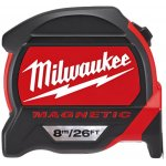 MILWAUKEE 48227225-MILWAUKEE rolmaat premium , magnetisch , 8 m / 26 ft metrisch & imperiaal-klium