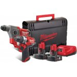 MILWAUKEE 4933459812-MILWAUKEE M12 FPP2B-402X Powerpack FUEL slagboormachine+ boorhamer-klium