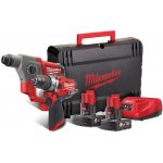 MILWAUKEE 4933459813-MILWAUKEE M12 FPP2B-602X Powerpack FUEL slagboormachine+ boorhamer-klium
