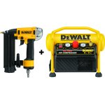 DEWALT DPN1850PPSET-DEWALT DPN1850PPSET 18 GA afwerktacker Precision Point 50mm in TSTAK + DPC6MRC 6l compressor-klium