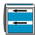 BRADY 267908-Leidingmerker met drager - Lucht-klium