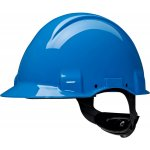 3M 7000108290-3M Veiligheidshelm, Uvicator, pinlock, zonder ventilatie, 440 V diëlektrisch, plastic zweetband, blauw, G3001CUV-BB-klium