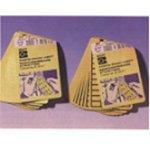 BRADY 101809-Blanco beschrijfbare labels op vellen-klium