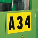 BRADY 015355-Identieke cijfer- of letterkaarten-klium