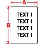 BRADY 018499-Labels voor TLS 2200/TLS PC Link-klium