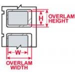 BRADY 032135-PermaShield labels voor de LS2000 printer-klium