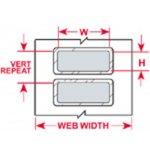 BRADY 030150-PermaShield? Thermische Transfert  Labels-klium