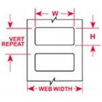 BRADY 035660-Thermische transfert Labels-klium