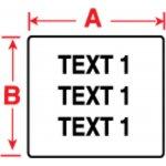 BRADY 018510-Labels voor TLS 2200/TLS PC Link-klium