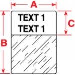 BRADY 018373-Labels voor TLS 2200/TLS PC Link-klium