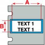 BRADY 018488-PermaSleeve krimpkousen voor de TLS 2200 & TLS PC Link-klium