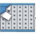BRADY 023113-Draadmerkerletters op kaart-klium