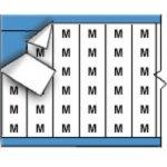 BRADY 011112-Draadmerkerletters op kaart-klium