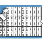 BRADY 054577-Nummers en letters in miniatuurformaat op kaart-klium