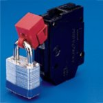 "BRADY 065396-""No hole"" onderbreker-lockout - 277 Volt-klium"