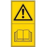BRADY 803998-Pictogrammen volgens DIN-norm 30646 - Eerst handleiding lezen (PIC 1600)-klium
