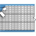 BRADY 054611-Opeenvolgende of individuele nummers en letters op kaart-klium