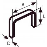 BOSCH 2609200238-Niet met fijne draad type 58 13 x 0,75 x 14 mm-klium