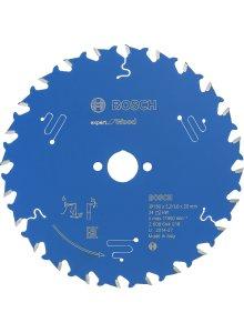 BOSCH 2608644016-BOSCH CIRKELZAAGBLAD EXPERT FOR WOOD 160 X 20 X 2,2 MM, T24-klium