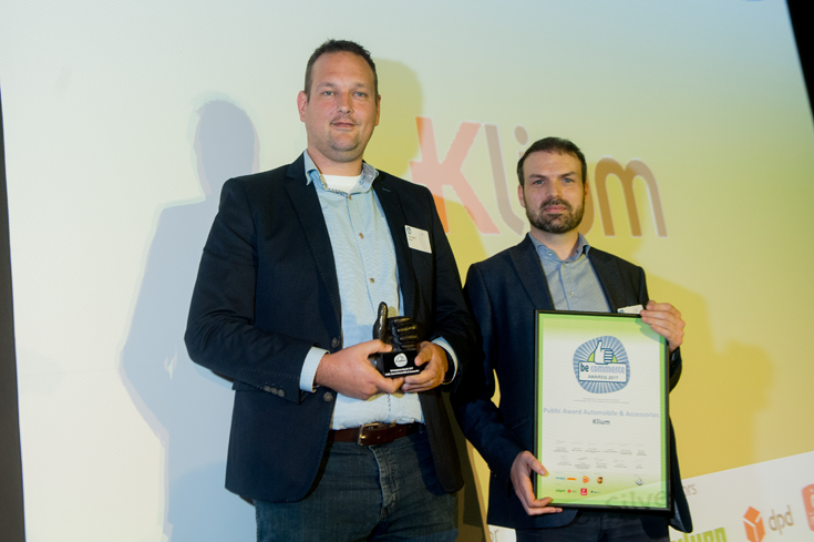 Klium wint becommerce awards